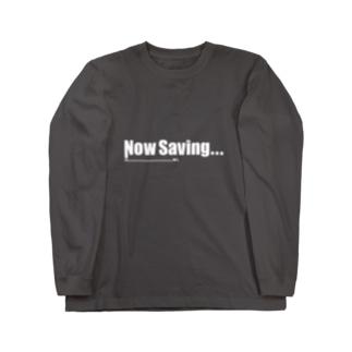 NowSaving_black Long sleeve T-shirts