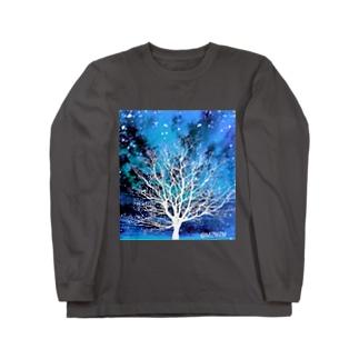 Bluesky★01 Long sleeve T-shirts