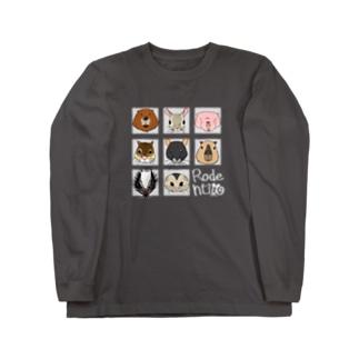 ネズミ年2020(暗) Long sleeve T-shirts