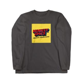 ヒーローロゴ Long sleeve T-shirts