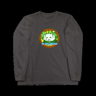 Higashi屋★ワンマンショー★ の福助 Long sleeve T-shirts