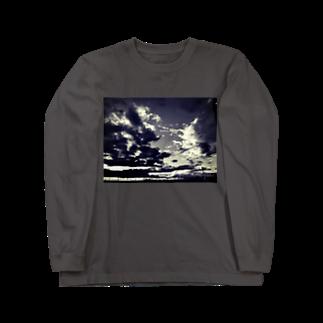 そらいろもようの灰色の世界Ⅷ Long sleeve T-shirts