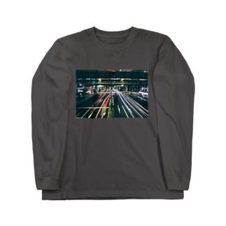 右折 Long sleeve T-shirts