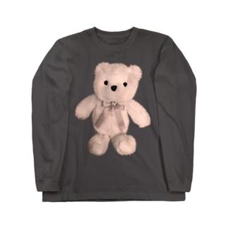 Dreamy Teddy Sepia Long sleeve T-shirts
