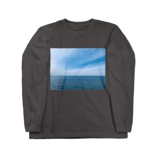 真玉海岸 Long sleeve T-shirts