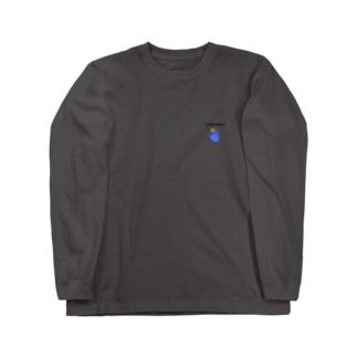 VEGETABLE DARK ロゴ Long sleeve T-shirts