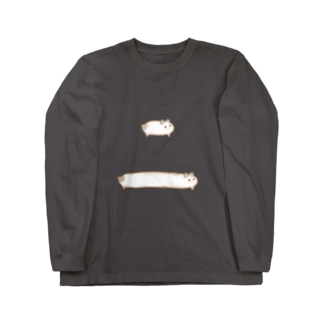 koyutaのハムスター Long sleeve T-shirts