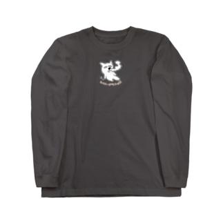 エクトプラニョロワンポイント Long sleeve T-shirts