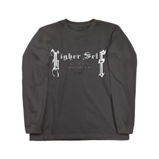 Higher Self(WHITE) Long sleeve T-shirts