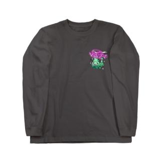 ブリドガス Long sleeve T-shirts