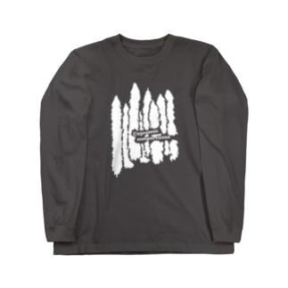 キナバル_ホソイトスギ No.4 Long sleeve T-shirts