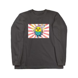 ひよこの祈り② Long sleeve T-shirts