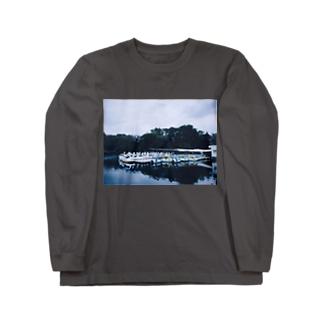 スワンボート Long sleeve T-shirts