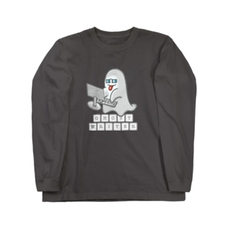 GHOST WRITER ゴーストライター 223 Long sleeve T-shirts