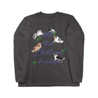 All that Shetland sheepdogs Long sleeve T-shirts