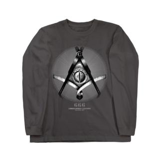 秘密結社クレスメイソン Long sleeve T-shirts