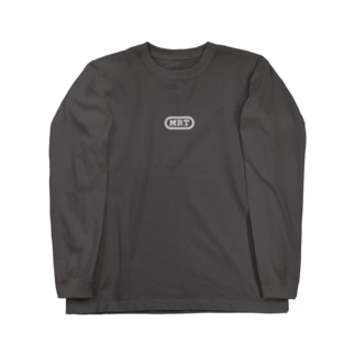 MRTロゴ_ブラック Long sleeve T-shirts