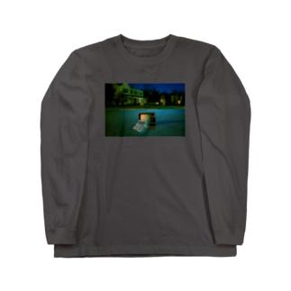 深夜番組(無力) Long sleeve T-shirts
