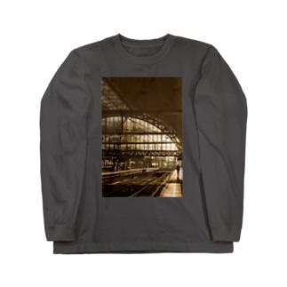 駅 海外 ハリー・ポッター Long sleeve T-shirts