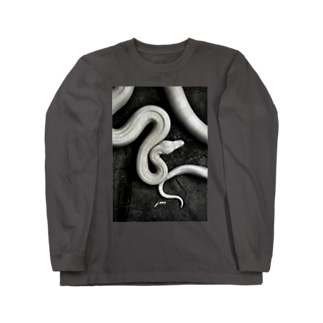Boa constrictor Long sleeve T-shirts