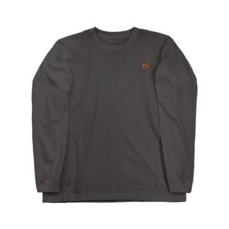 アカテガニ Long sleeve T-shirts