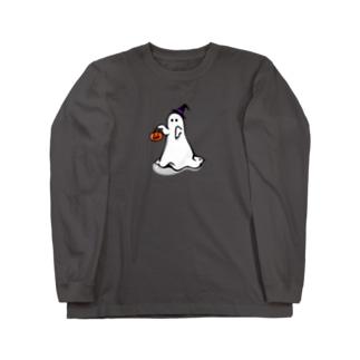 ぼうしのおばけ Long sleeve T-shirts