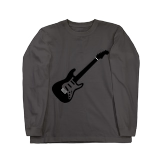 musicshop BOBのギタァ - GUITAR Long sleeve T-shirts
