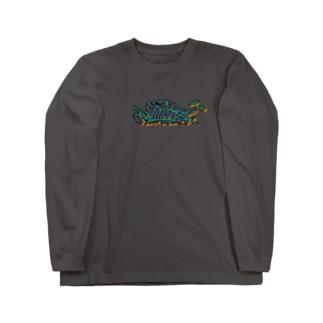 GUNYA(色違い) Long sleeve T-shirts