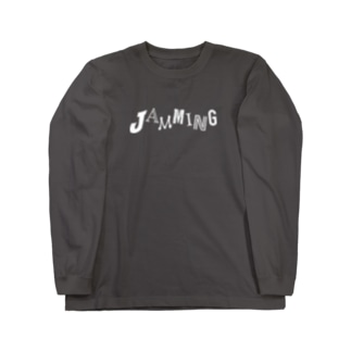 JAMMING【濃色ベース】 Long sleeve T-shirts