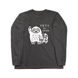 CT94 YETI is yeah*B4000 Long sleeve T-shirts