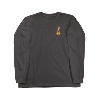 83FAMI x MAYO シルエット Long sleeve T-shirts