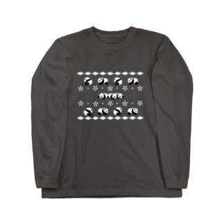 パンダちゃん11 Long sleeve T-shirts