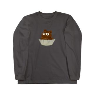たぬきケーキ Long Sleeve T-Shirt