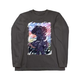 冬とかいうマジで寒くて最悪の季節 Long sleeve T-shirts