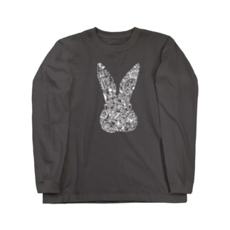 うさぎ Long sleeve T-shirts