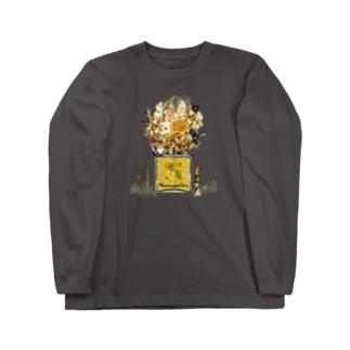 アンドアイデザイン 数秘&カラー🄬オマージュボトルNo8&GOLD Long sleeve T-shirts