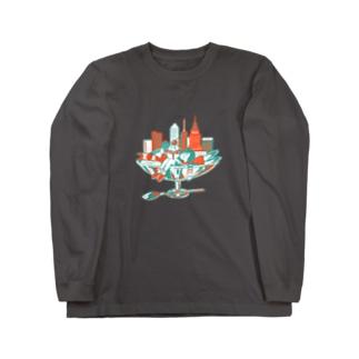甘い都会 Long sleeve T-shirts