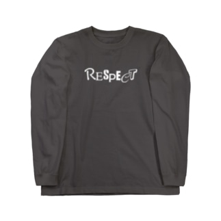 RESPECT【濃色ベース】 Long sleeve T-shirts