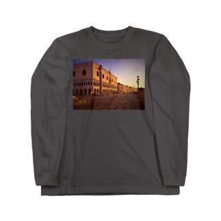 ヴェネツィアの朝焼 Long sleeve T-shirts