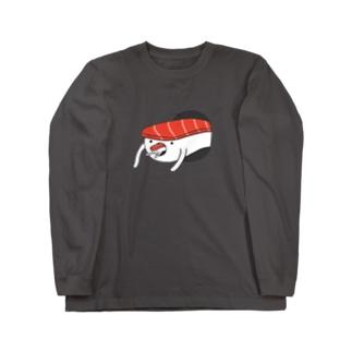 寿司イーター Long sleeve T-shirts