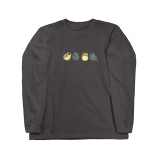 -AOJI&KUROJI No.1- Bird call Long Sleeve T-Shirt