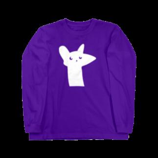 はるはらのラッキー猫 ロングスリーブTシャツ
