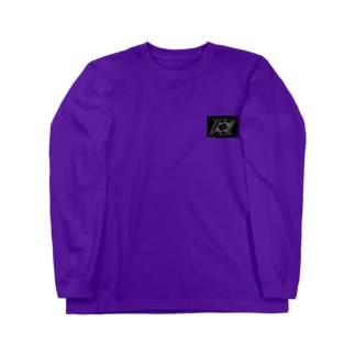 [N≡]black×blue ロングスリーブTシャツ
