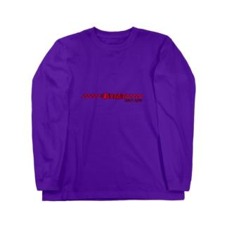 DYMT 17aw 赤黒 ロングスリーブTシャツ