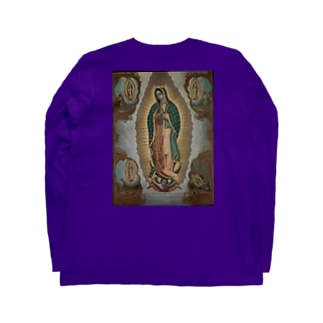 The Virgin of Guadalupe with the Four Apparitions Long sleeve T-shirts