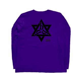 バックプリント「bbb」 Long sleeve T-shirts