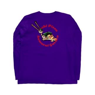 寿司PIZZA Long sleeve T-shirts