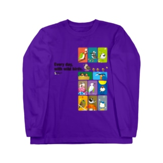 ことりの歳時記。 Long sleeve T-shirts