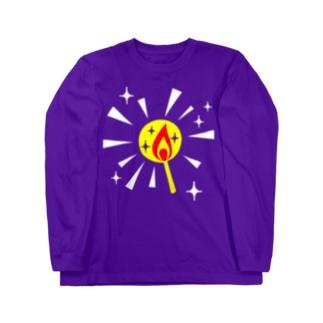 マッチの灯 Long sleeve T-shirts