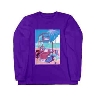 リゾート富士の風♪ Long Sleeve T-Shirt
